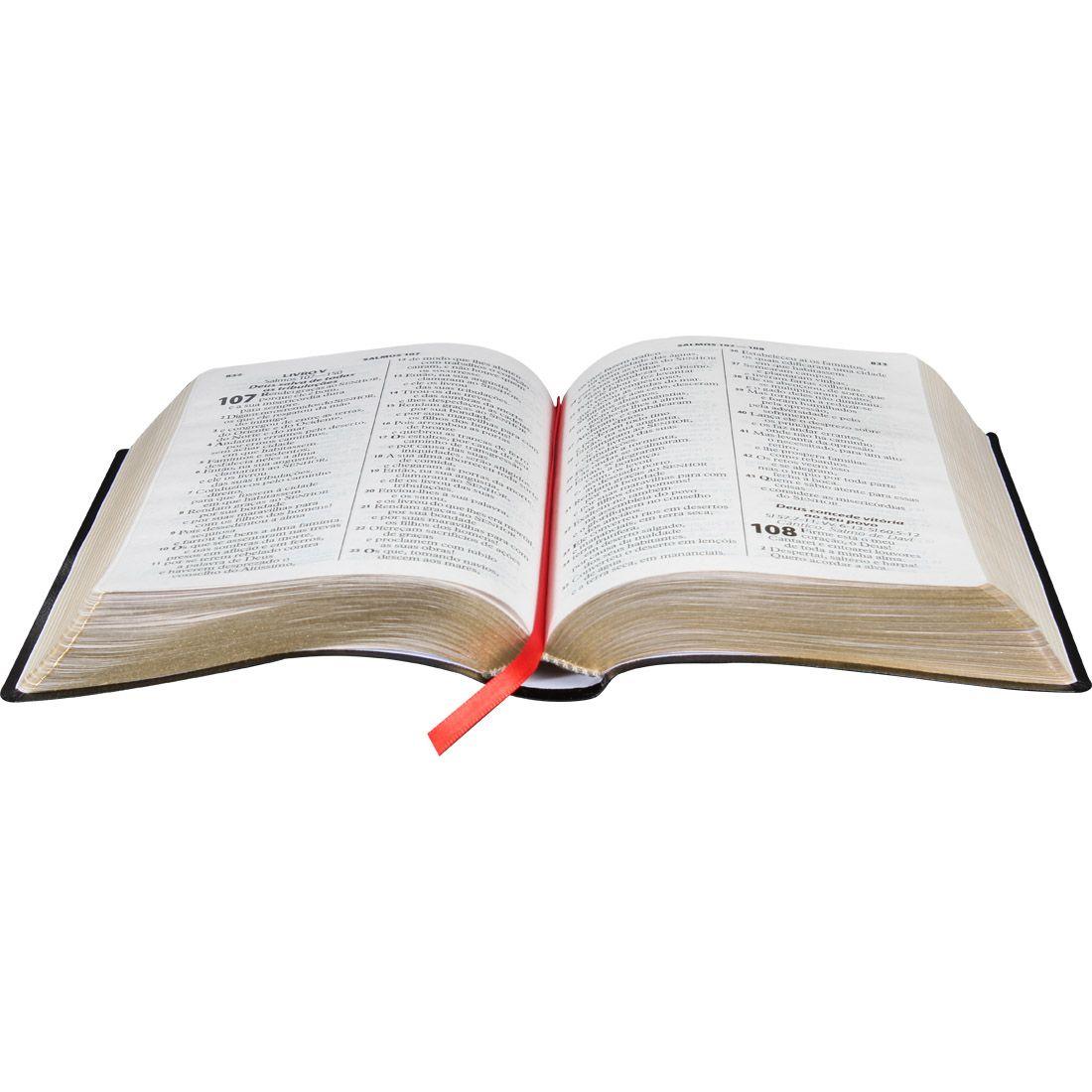 Bíblia Letra Gigante ARA - Bonded Preta