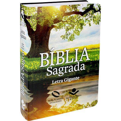 Bíblia Letra Gigante com Índice Capa Flexível | NAA