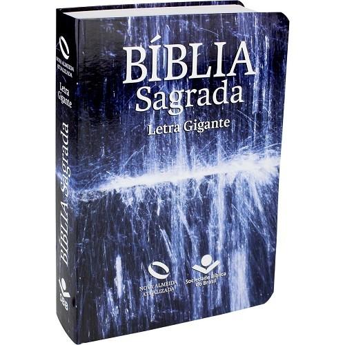 Bíblia Letra Gigante com Índice Capa Flexível   NAA
