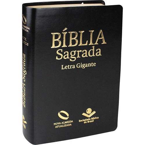 Bíblia Letra Gigante Luxo Índice | NAA