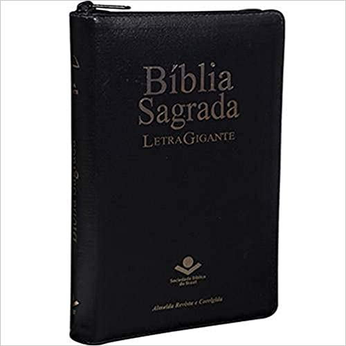 Bíblia Letra Gigante Zíper com Índice | ARC