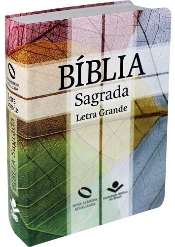 Bíblia Letra Grande com índice Capa flexível | NAA