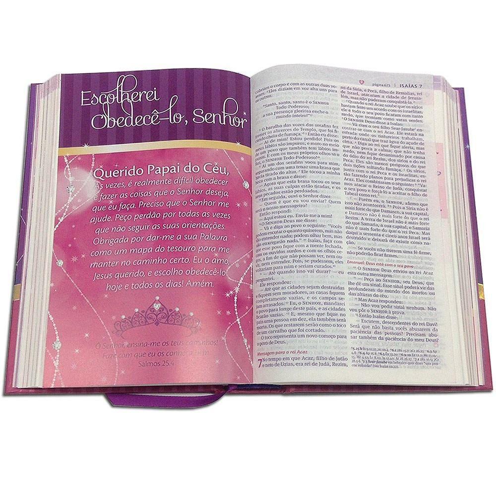 Bíblia Minha Linda Princesinha | Capa Dura