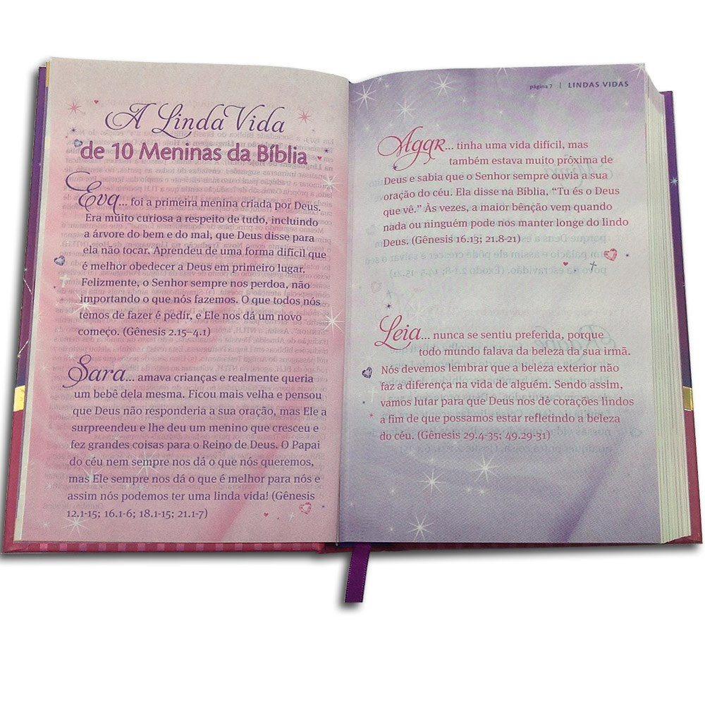Bíblia Minha Linda Princesinha   Capa Dura