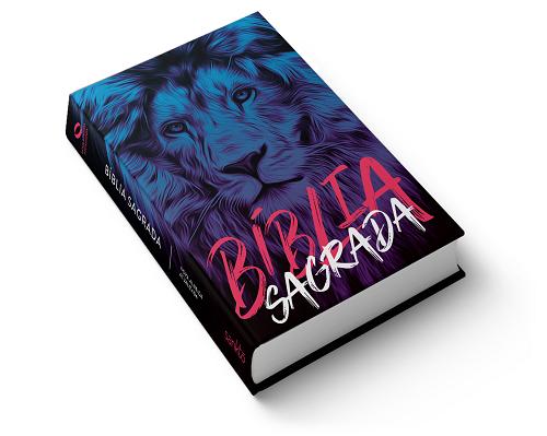 Bíblia NAA Leão Azul