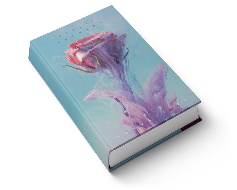 Bíblia NTLH YouVersion Rosa de Saron | Soft Touch