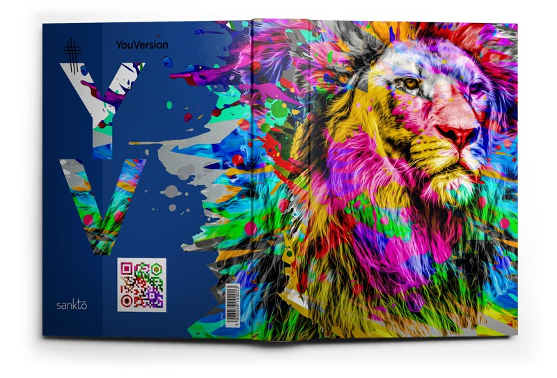 Biblia NTLH YouVersion The Lion Colorida | Soft Touch