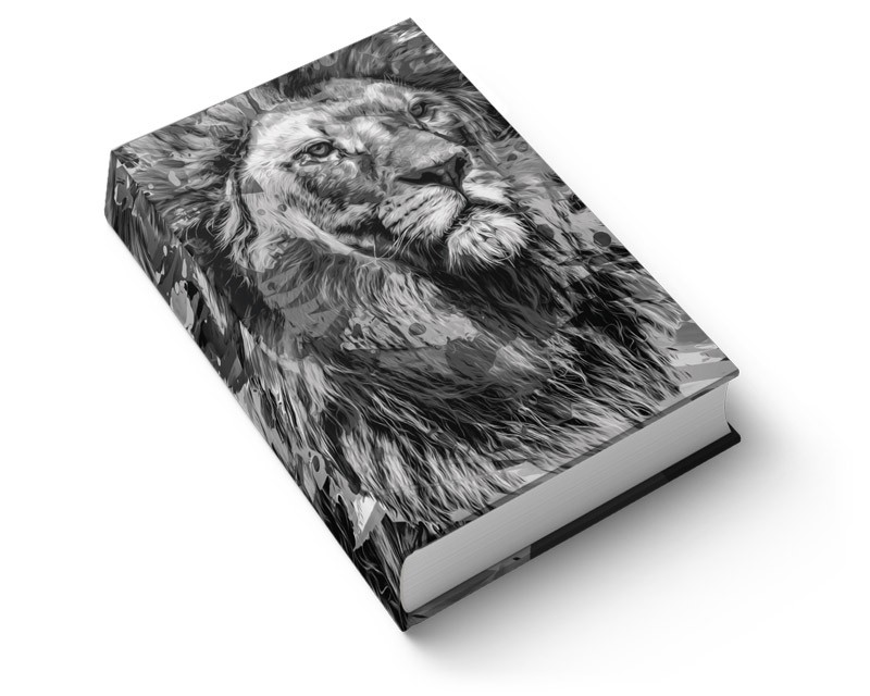 Biblia NTLH YouVersion The Lion P&B | Soft Touch