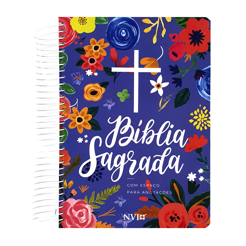 Bíblia   NVI   Anote   Espiral   Céu Azul