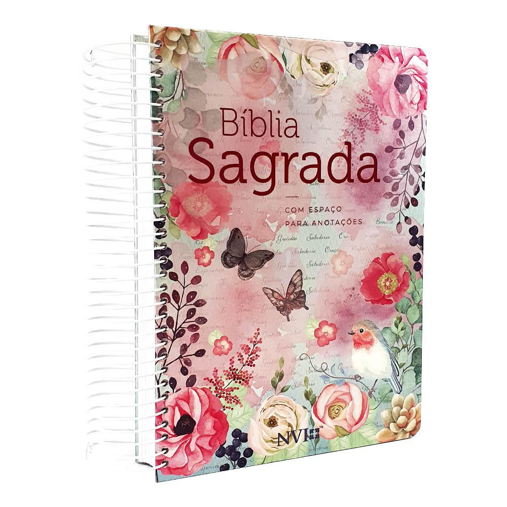 Bíblia | NVI |  Anote | Espiral | Clássica Virtuosa