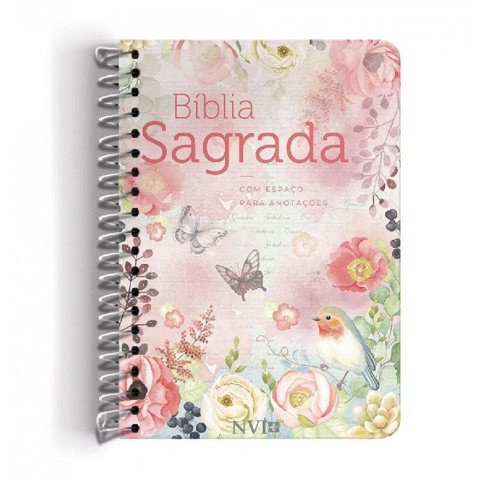 Bíblia NVI Anote Espiral - Clássica Virtuosa