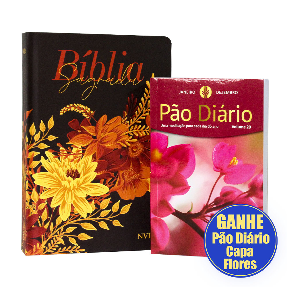 Bíblia NVI Buque Preta | Letra Gigante | Soft Touch