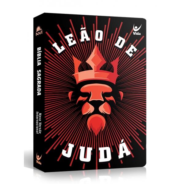 Bíblia NVI Leão de Judá | Capa Dura