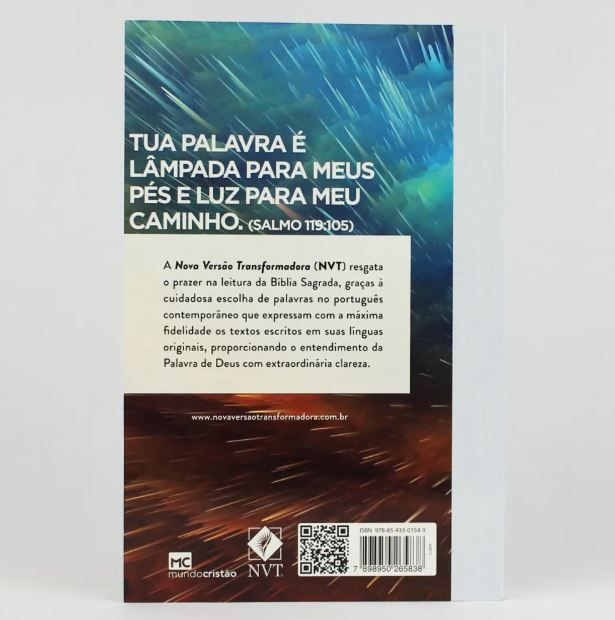Bíblia NVT Brochura | Capa Luzes