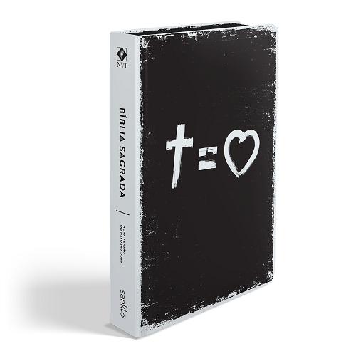 Biblia NVT Cross Equals Love | Soft Touch