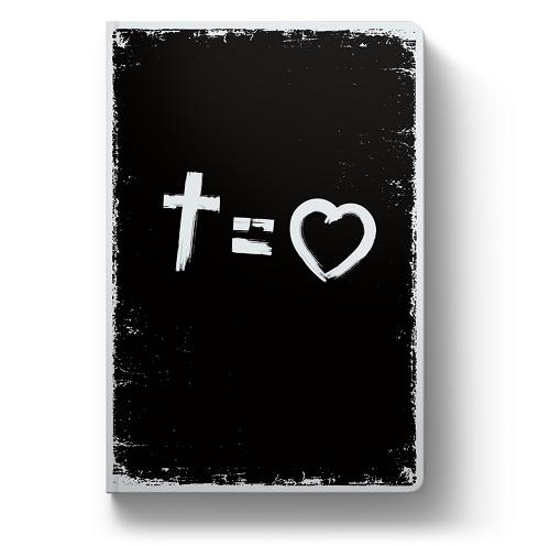 Bíblia NVT Cross Equals Love | Soft Touch
