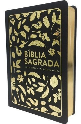 Bíblia NVT Letra Grande | Folhas Douradas