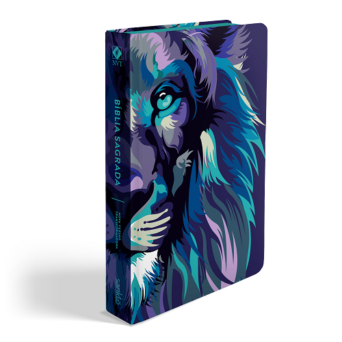 Biblia NVT Lion Colors Cool | Soft Touch
