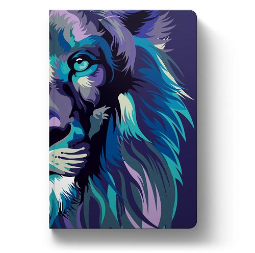 Biblia NVT Lion Colors Cool   Soft Touch