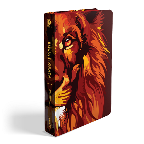 Biblia NVT Lion Colors Fire | Soft Touch