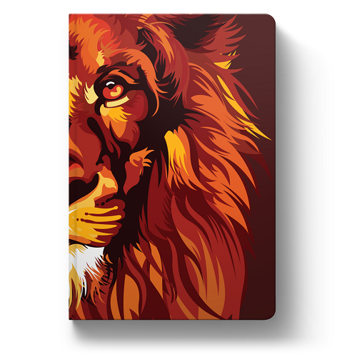 Bíblia NVT Lion Colors Fire | Soft Touch