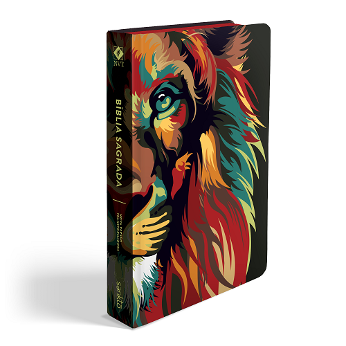 Biblia NVT Lion Colors Nature | Soft Touch
