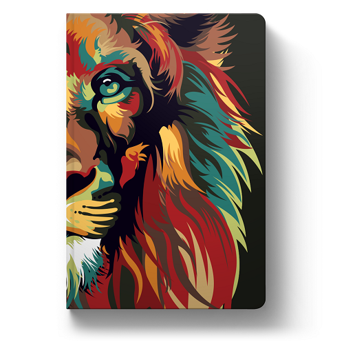 Bíblia NVT Lion Colors Nature | Soft Touch