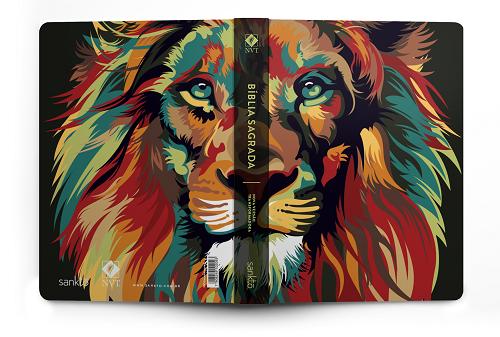 Biblia NVT Lion Colors Nature | Soft Touch