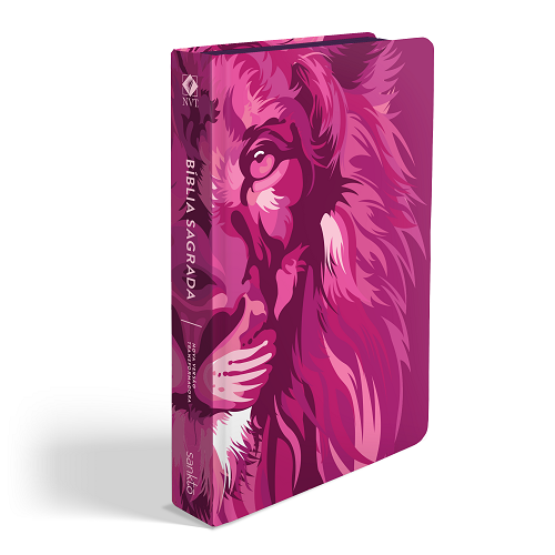 Biblia NVT Lion Colors Pink | Soft Touch