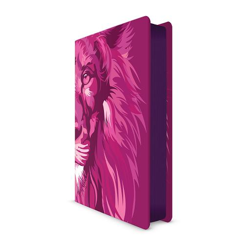 Bíblia NVT Lion Colors Pink   Soft Touch
