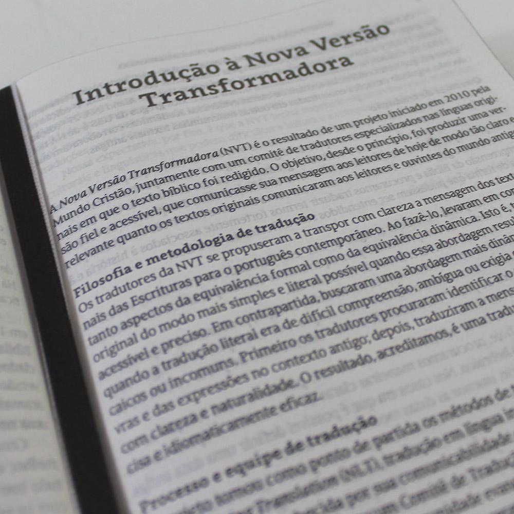 Bíblia NVT Lion Head | Soft Touch