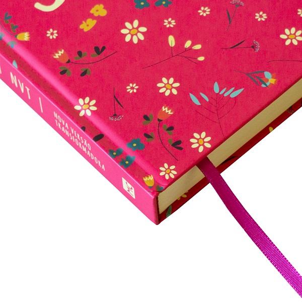 Bíblia NVT Pequeno Jardim Pink