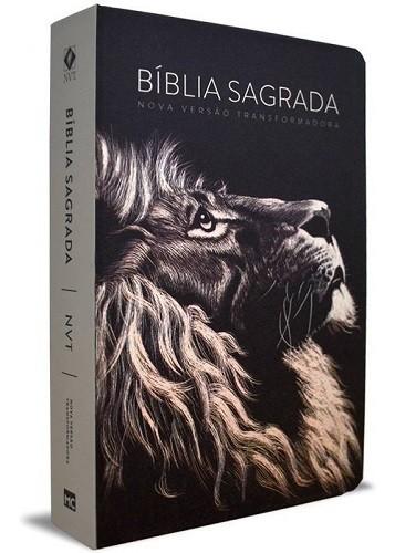 Bíblia NVT ST Letra Grande | Lion Head