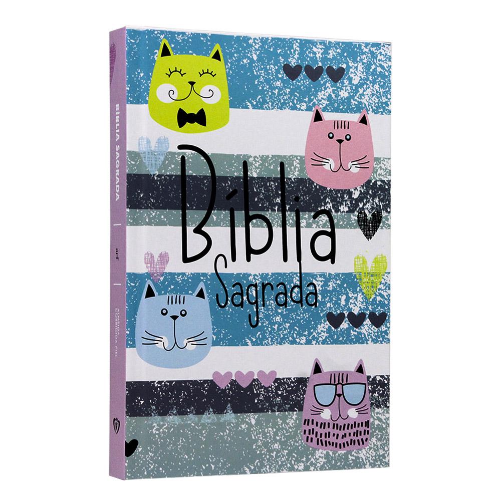 Bíblia Sagrada | Capa Dura | Cats | ACF