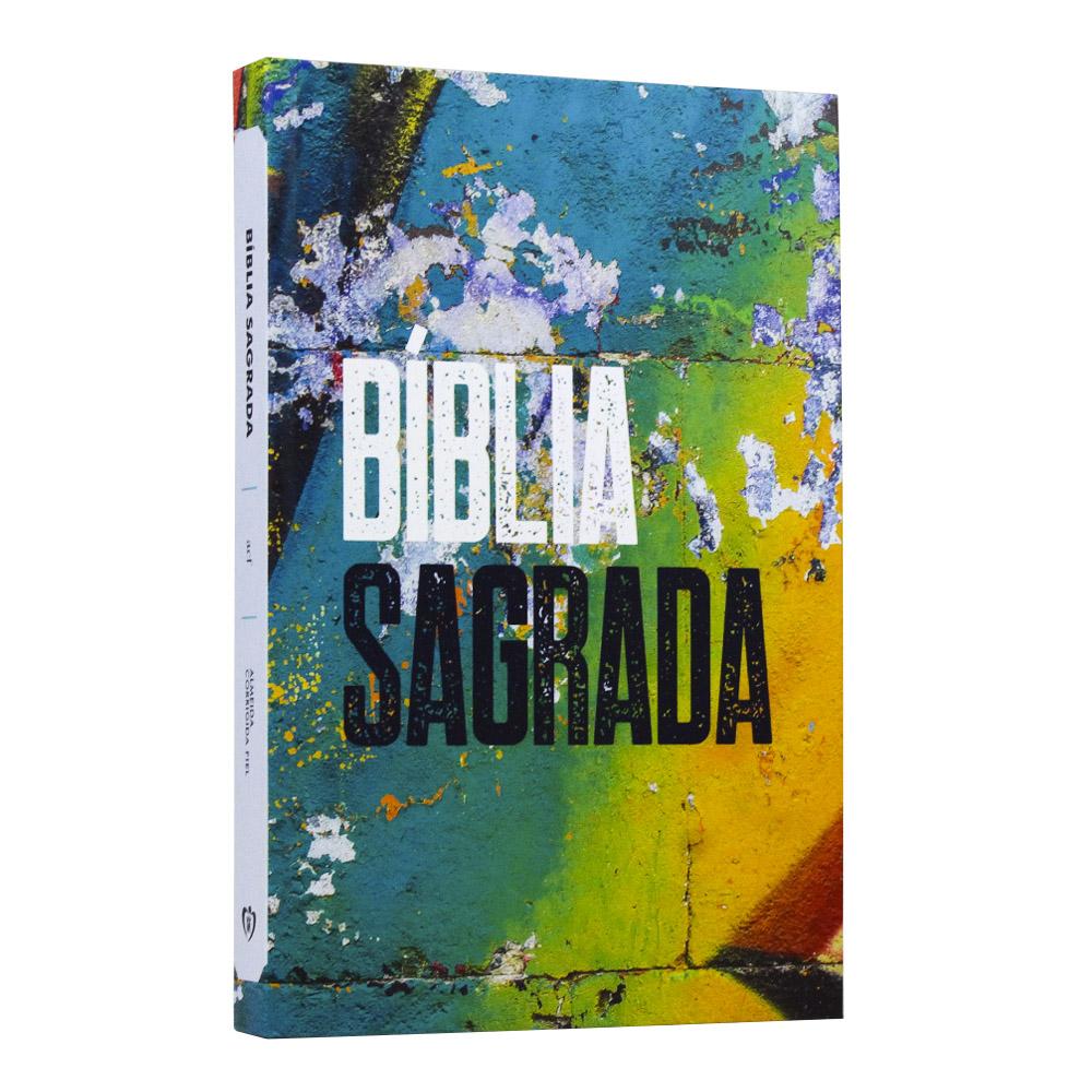 Bíblia Sagrada | Capa Dura | Grafite Color | ACF