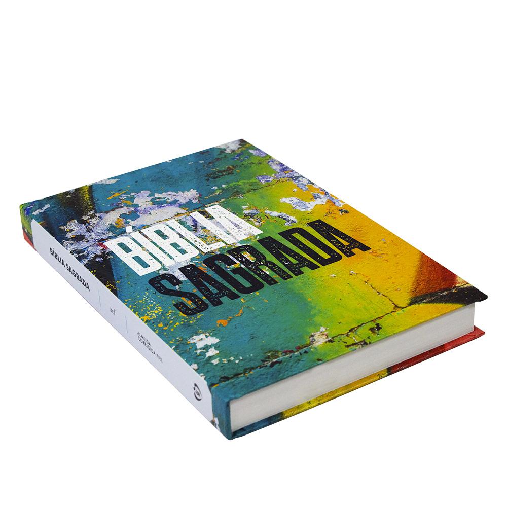 Bíblia Sagrada   Capa Dura   Grafite Color   ACF