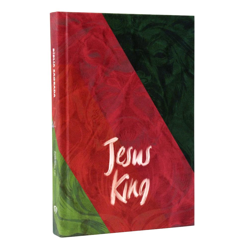 Bíblia Sagrada | Capa Dura | Jesus King | ACF