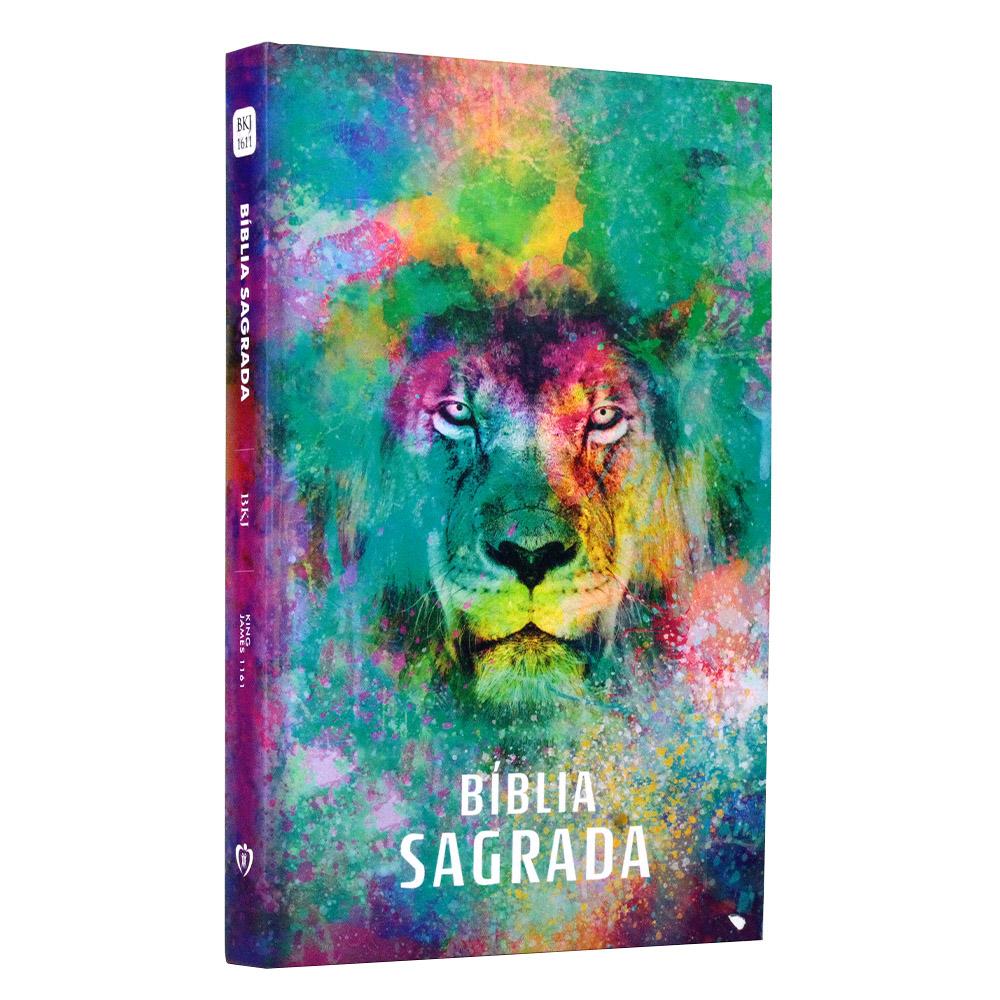 Bíblia Sagrada | Capa Dura | Leão Color | BKJ 1611