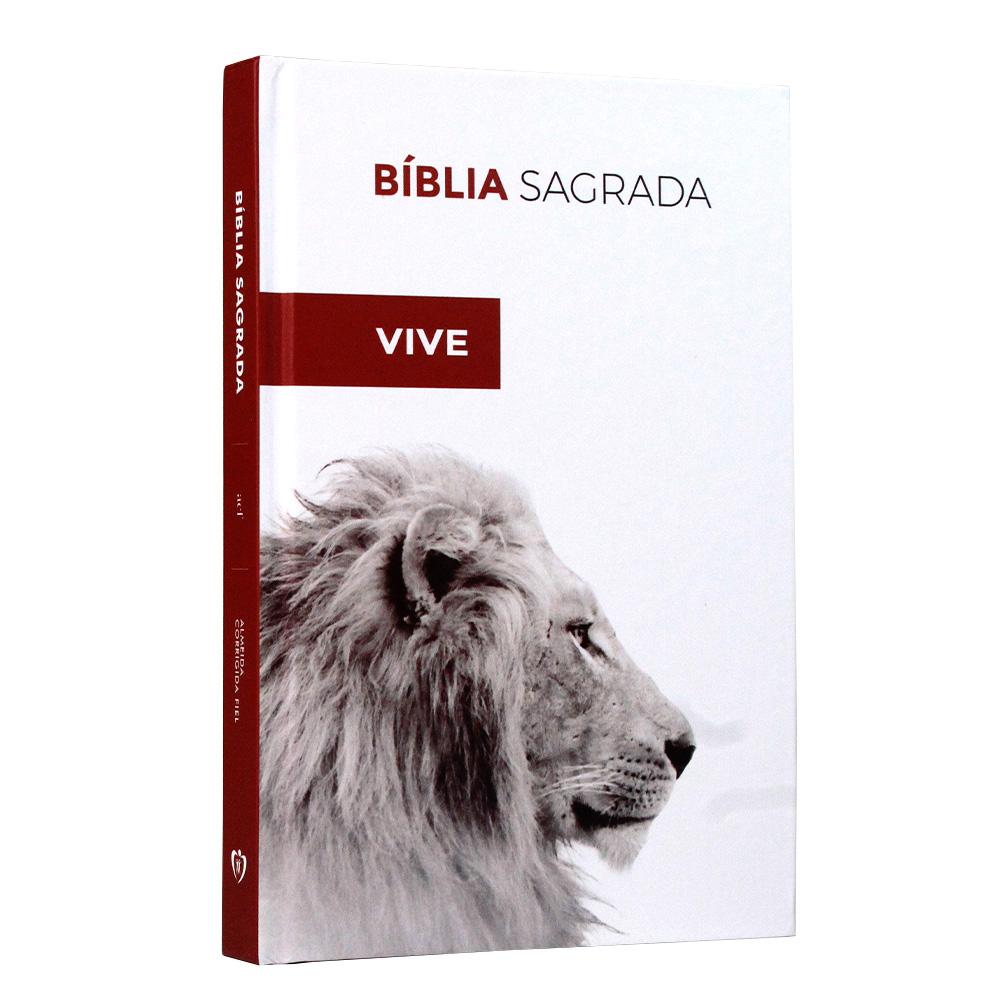 Bíblia Sagrada   Capa Dura   Leão Ele Vive   ACF