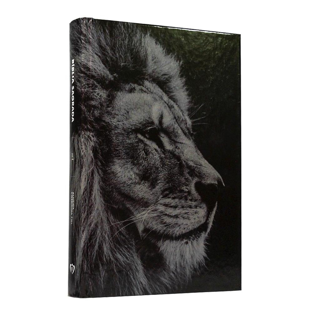 Bíblia Sagrada | Capa Dura | Leão Hebraico | ACF