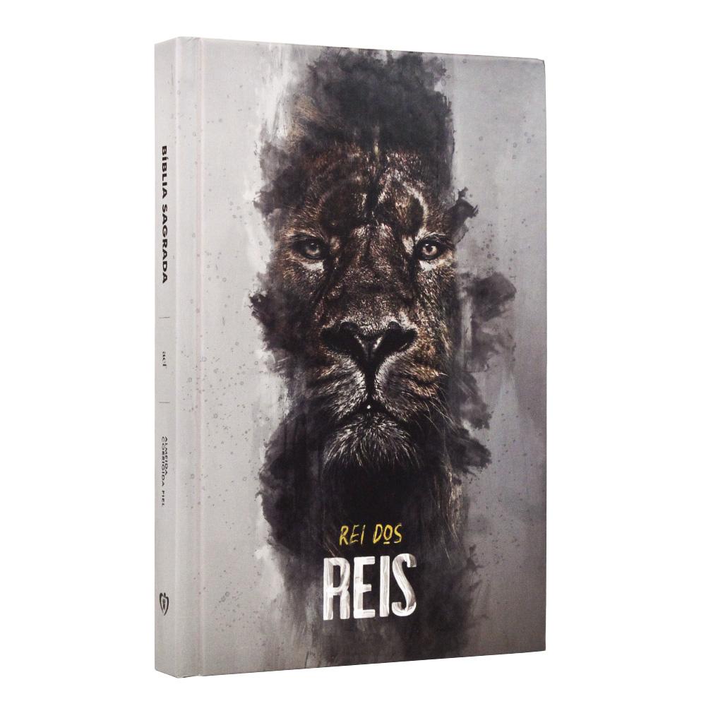 Bíblia Sagrada | Capa Dura | Leão Rei dos Reis | ACF