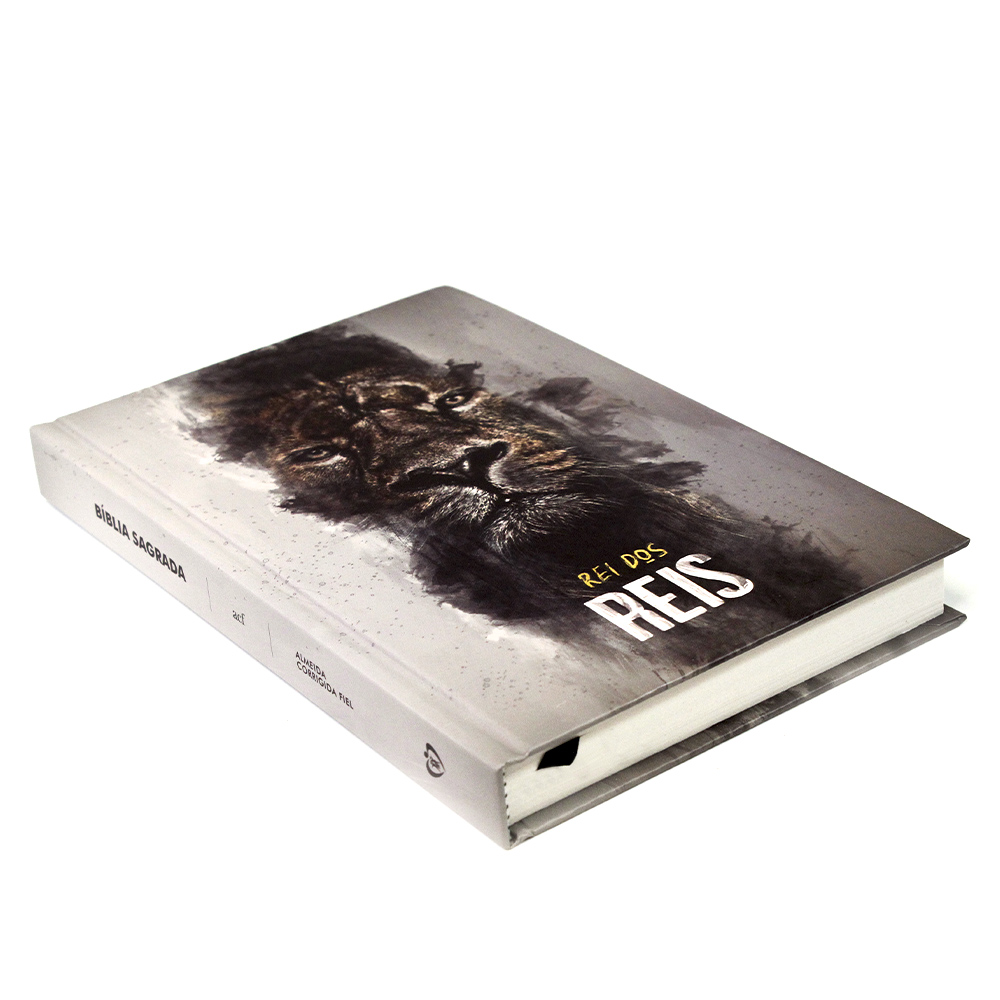 Bíblia Sagrada   Capa Dura   Leão Rei dos Reis   ACF
