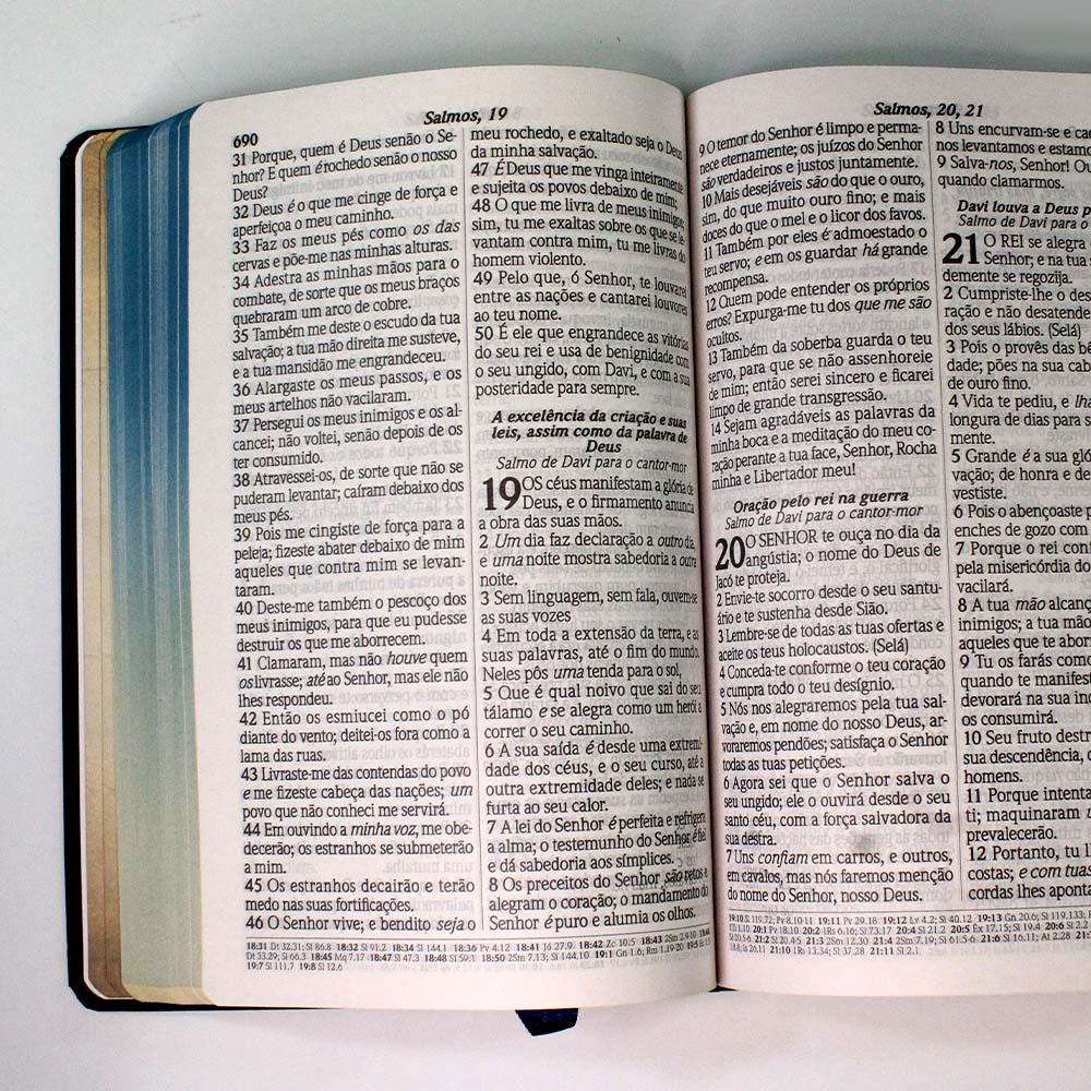Bíblia Sagrada | Capa Dura | Nébula | Letra Gigante | RC