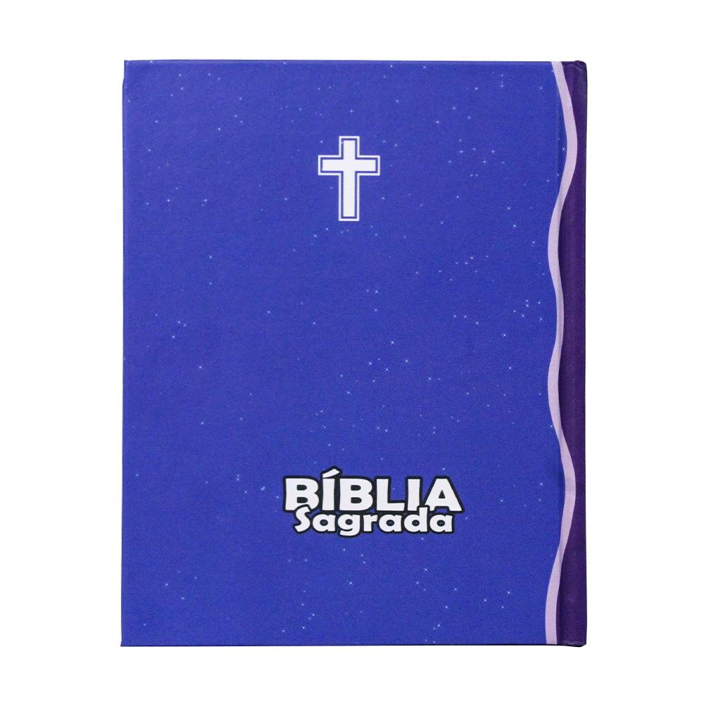 Bíblia Sagrada Infantil | ACF | Letra Média | Capa Dura Leão | Turminha Família Cristã