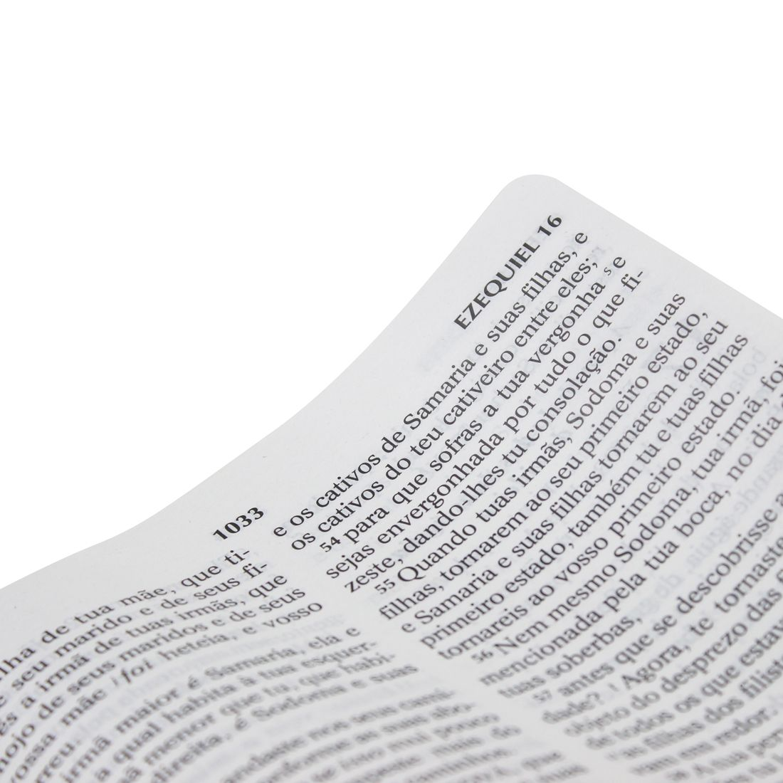 Bíblia Sagrada Letra Gigante com Harpa Cristã - Semiflex Tradicional Preta