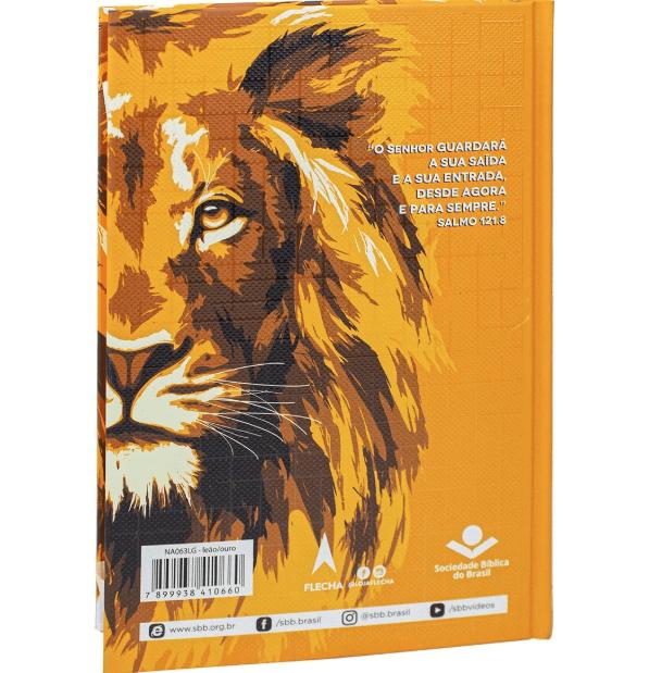 Bíblia Sagrada NAA Letra Grande | Leão Dourado