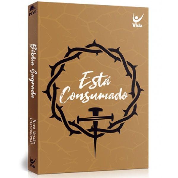 Bíblia Sagrada NVI | Popular | Capa Está Consumado