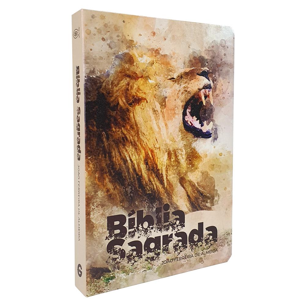 Bíblia Sagrada   RC   Letra Grande   Semi-Luxo   Leão