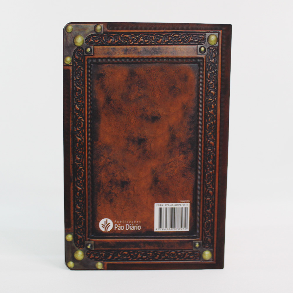 Bíblia Sagrada Vintage Cruz Marrom - NVI