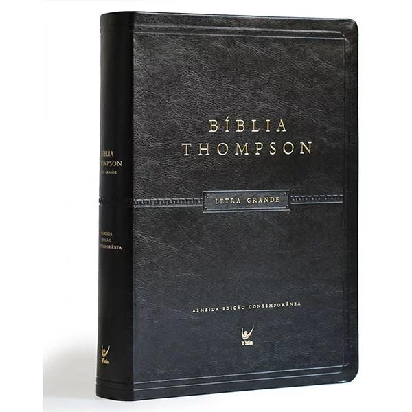Bíblia Thompson Letra Grande - Preta PU